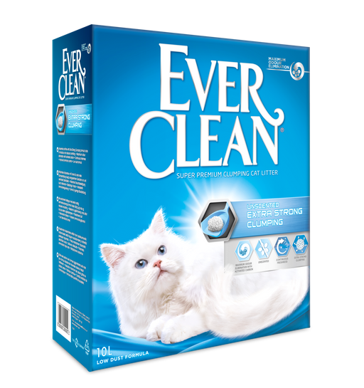 EverClean Unscented Extra Strong kissanhiekka 10 L