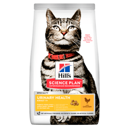 Hill's SP Urinary Health Adult Cat, kana 3 kg