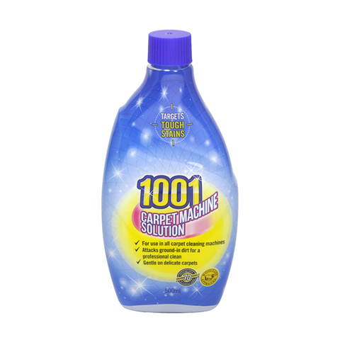 1001 Carpet Machine Solution 500ml in UK