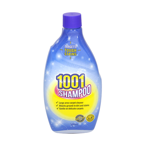 1001 Carpet Shampoo 500ml in UK