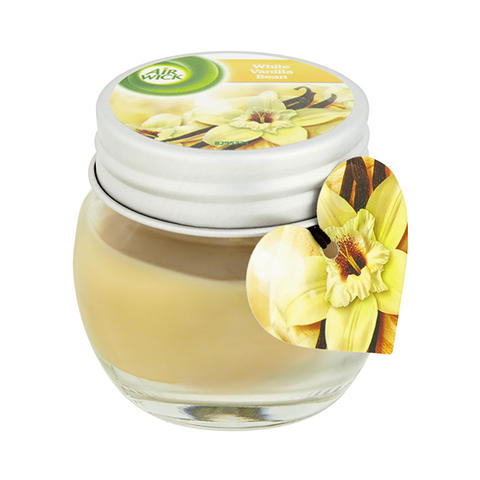 Airwick Candle White Vanilla Bean 30g in UK