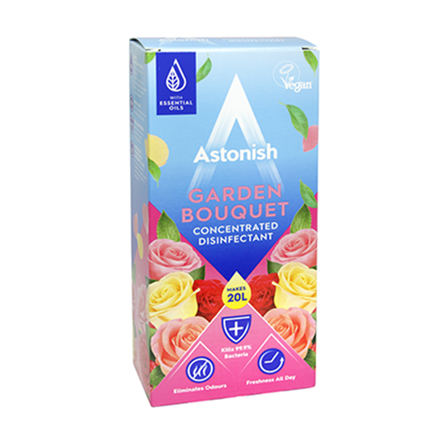 Astonish Concentrate Disinfectant Garden Bouquet 500ml in UK