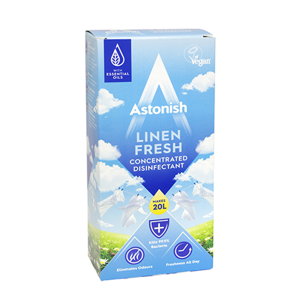 Astonish Concentrate Disinfectant Linen Fresh 500ml
