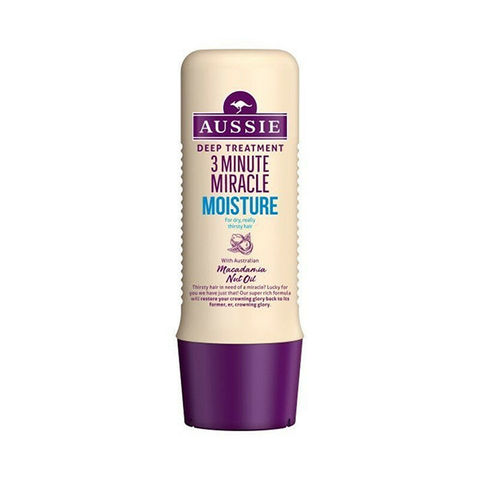 Aussie 3 Minute Miracle Moisture Deep Treatment 250ml in UK