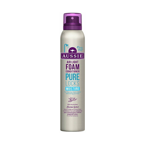 Aussie Pure Locks Moisture Conditioning Foam 180ml in UK
