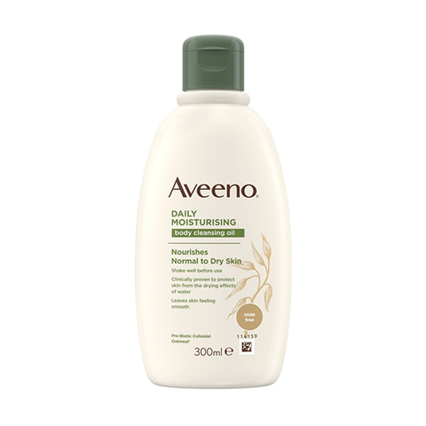 Aveeno Daily Moisturising Body Cleansing Oil 300ml in UK