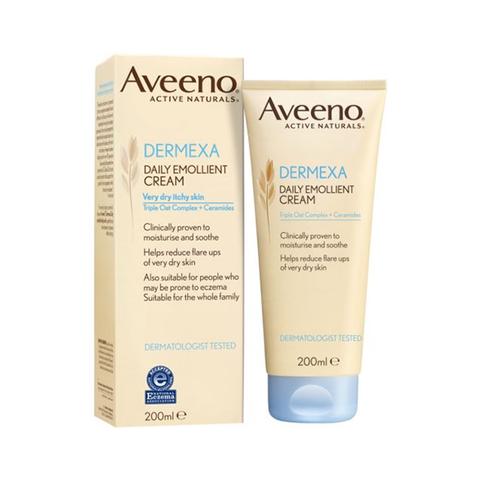 Aveeno Dermexa Daily Emollient Cream 200ml in UK