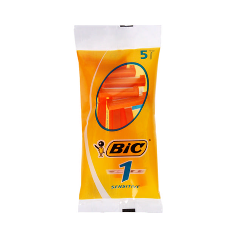 Bic 1 Sensitive Disposable Razors 5's in UK