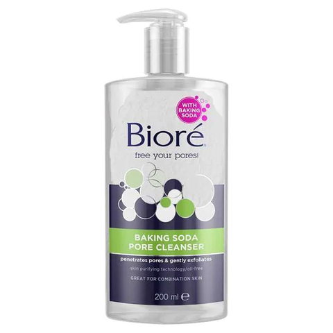 Bioré Baking Soda Liquid Cleanser 200ml in UK