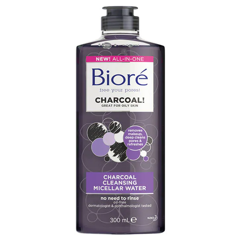 Bioré Charcoal Micellar Water 300ml in UK