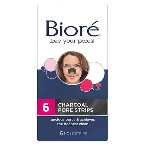 Bioré Charcoal Pore Strips 6ct in UK