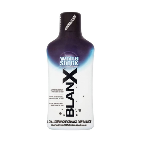 Blanx Instant White Shock Mouthwash 500ml in UK