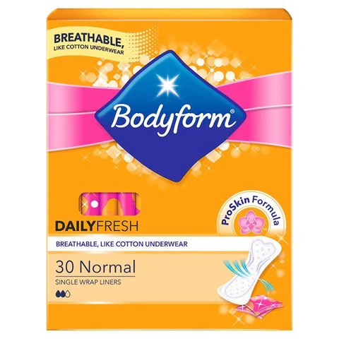 Bodyform Normal Wrapped Liner x30 in UK