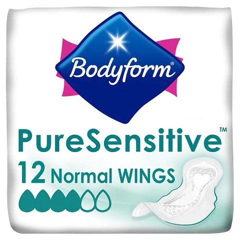 Bodyform Pure Sensitive Ultra Wings in UK