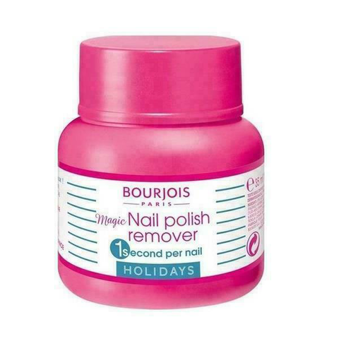 Bourjois Nail Polish Remover Pot With Easy Soak Sponge 35ml in UK