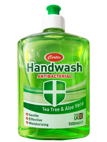 Certex Tea Tree & Aloe Vear Anti-Bacterial Hand Wash 500ml
