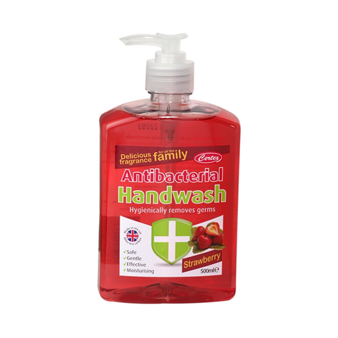 Certex Strawberry Anti-Bacterial Hand Wash 500ml
