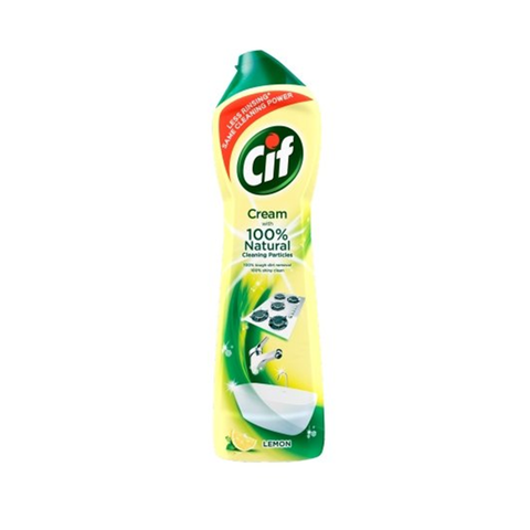 Cif Cream Lemon New Pack 500ml in UK