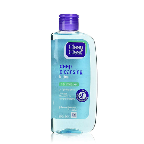 Clean & Clear Cleansing Lotion Sensitive Skin 200ml in UK