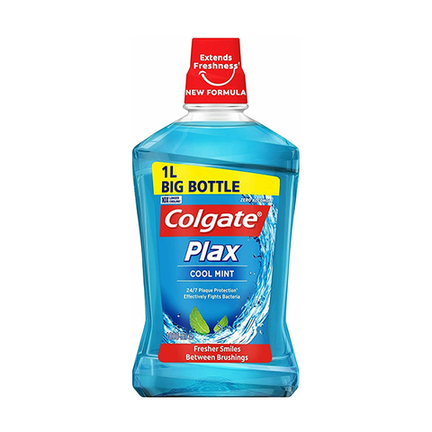 Colgate Plax Cool Mint Mouthwash 1L in UK