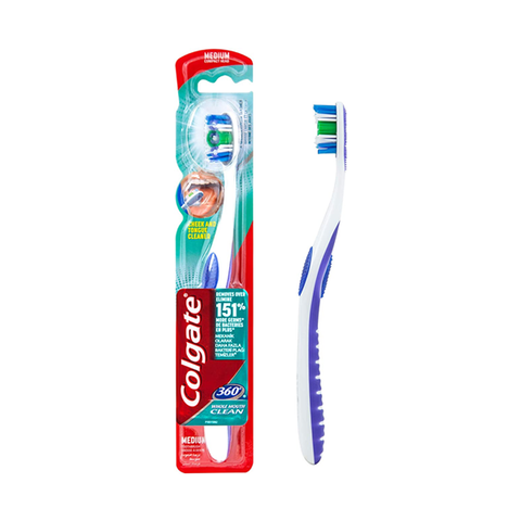 Colgate Toothbrushes 360 Degrees Compact Head Medium in UK