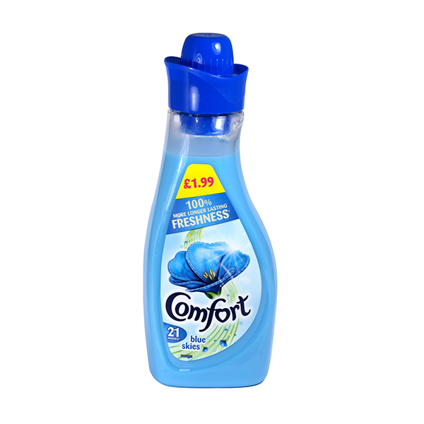 Comfort Fabric Conditioner Blue Skies 750ml in UK