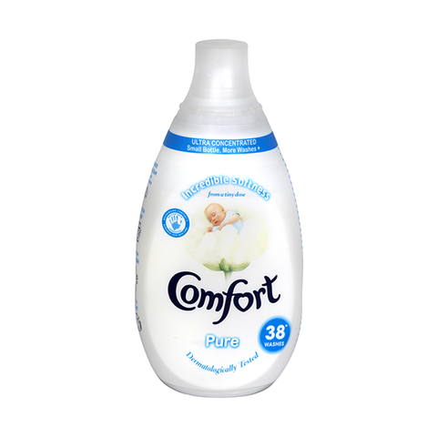 Comfort Intense Fabric Conditioner Pure 38 Wash 570ml in UK