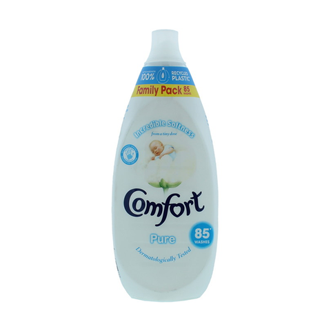 Comfort Intense Fabric Conditioner Pure 85 Wash 1.275L in UK