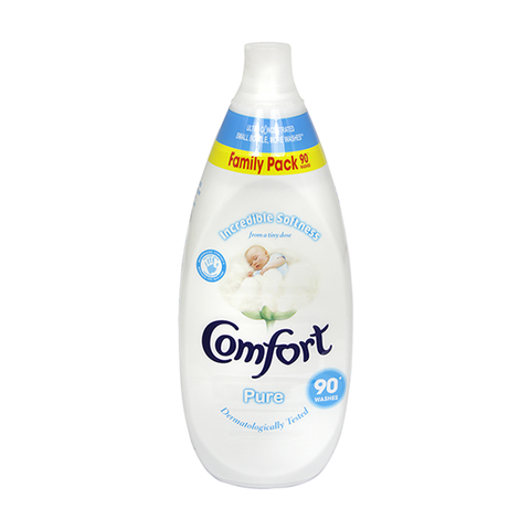 Comfort Intense Fabric Conditioner Pure 90 Wash 1.35L in UK