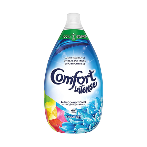 Comfort Intense Fabric Conditioner Sky 60 Wash 900ml in UK