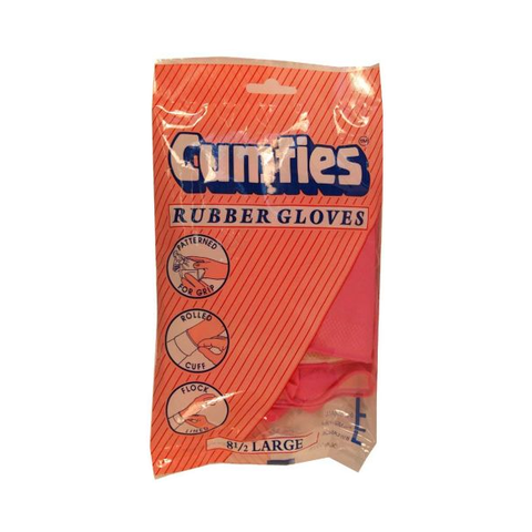 Cumfies Rubber Gloves Large in UK