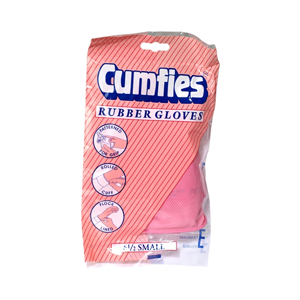 Cumfies Rubber Gloves Small in UK