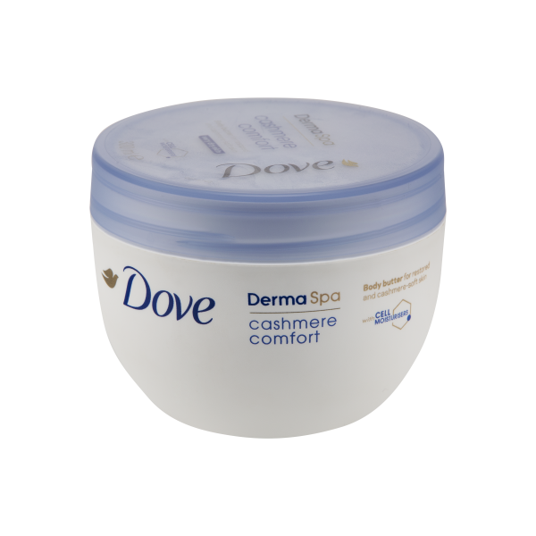 Dove DermaSpa Cashmere Comfort Body Butter For Very Dry Skin 300ml in UK
