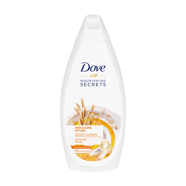 Dove Indulging Ritual With Oat Milk & Honey Body Wash 500ml in UK