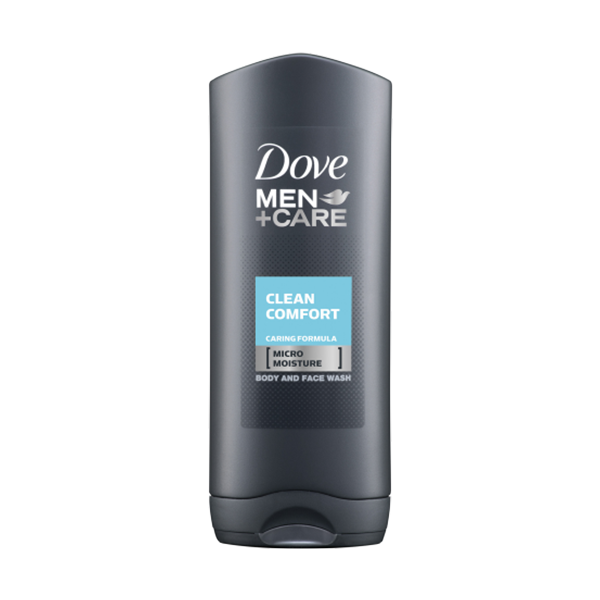 Dove Men+Care Clean Comfort Body & Face Wash 400ml in UK