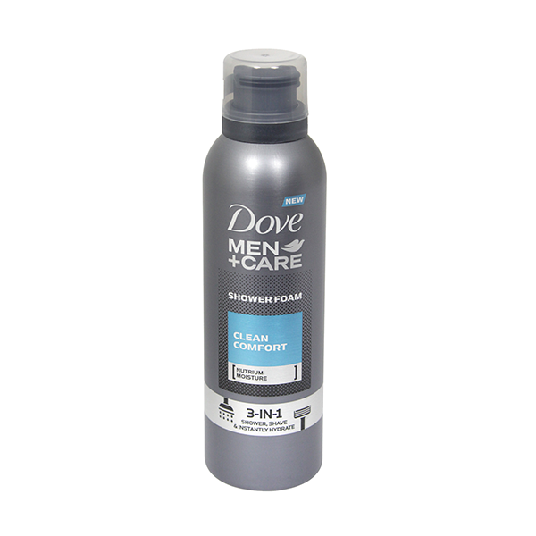 Dove Men+Care Clean Comfort Shower Foam 200ml in UK