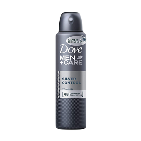 Dove Men+Care Silver Control Anti-Perspirant Spray 150ml in UK