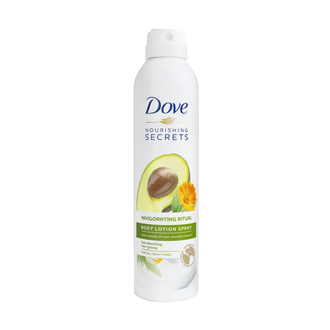 Dove Nourishing Secrets Invigorating Ritual Body Lotion Spray 190ml in UK