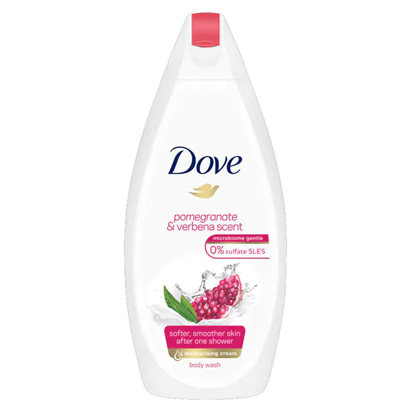 Dove Pomegranate & Verbena Scent Body Wash 450ml in UK
