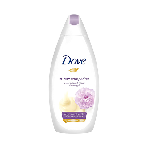 Dove Purely Pampering Peony & Sweet Cream Body Wash 500ml in UK