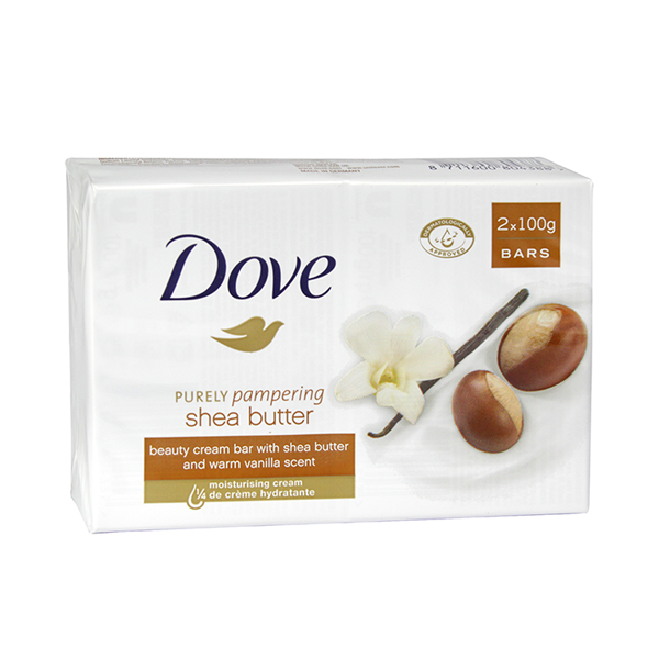 Dove Purely Pampering Shea Butter Beauty Cream Bar 2x100g in UK