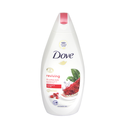 Dove Reviving Pomegranate & Hibiscus Tea Shower Gel 500ml in UK