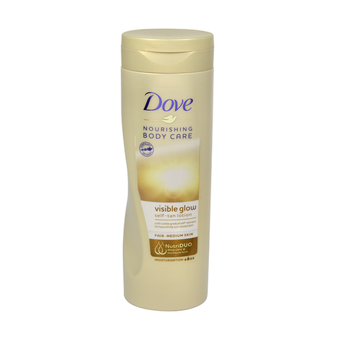 Dove Visible Glow Fair Nourishing Self-Tan Lotion 400ml in UK