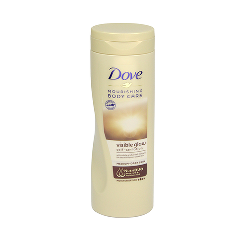 Dove Visible Glow Medium Dark Skin Body Lotion 400ml in UK