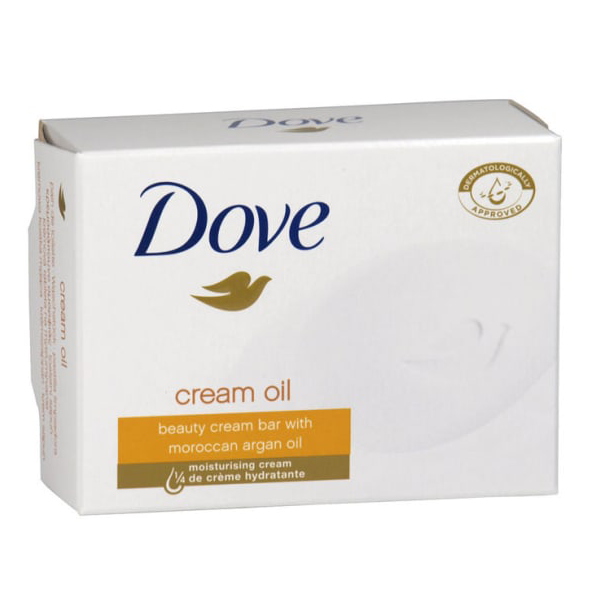 Dove Cream Oil Beauty Bar With Moroccan Argan Oil 100g in UK