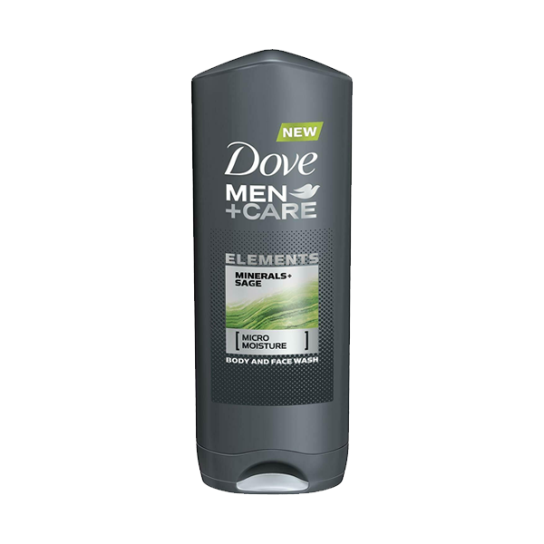 Dove Men+Care Elements Minerals & Sage Body Wash 400ml in UK