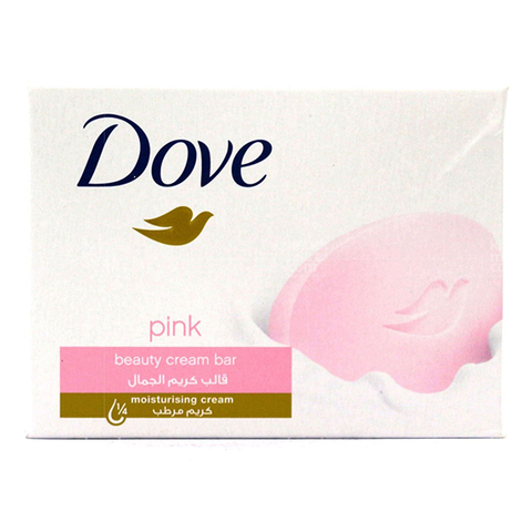 Dove Pink Beauty Cream Bar Soap 100g in UK