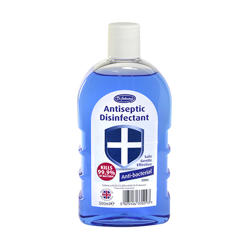 Dr Johnson's Disinfectant Anti-Bacterial 500ml in UK