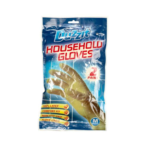 Duzzit Rubber Gloves Medium in UK