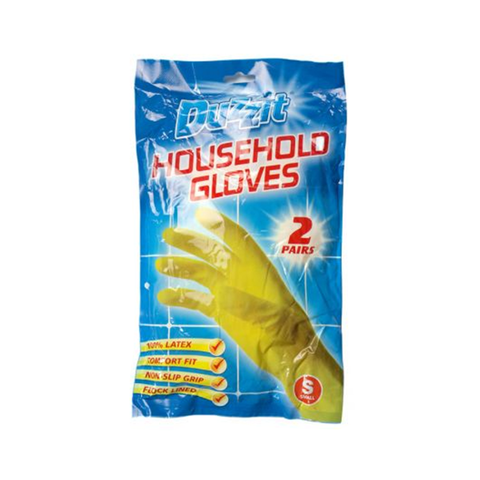 Duzzit Rubber Gloves Small in UK